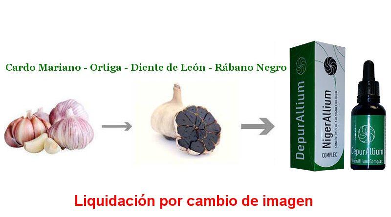 Liquidación Ajo Negro