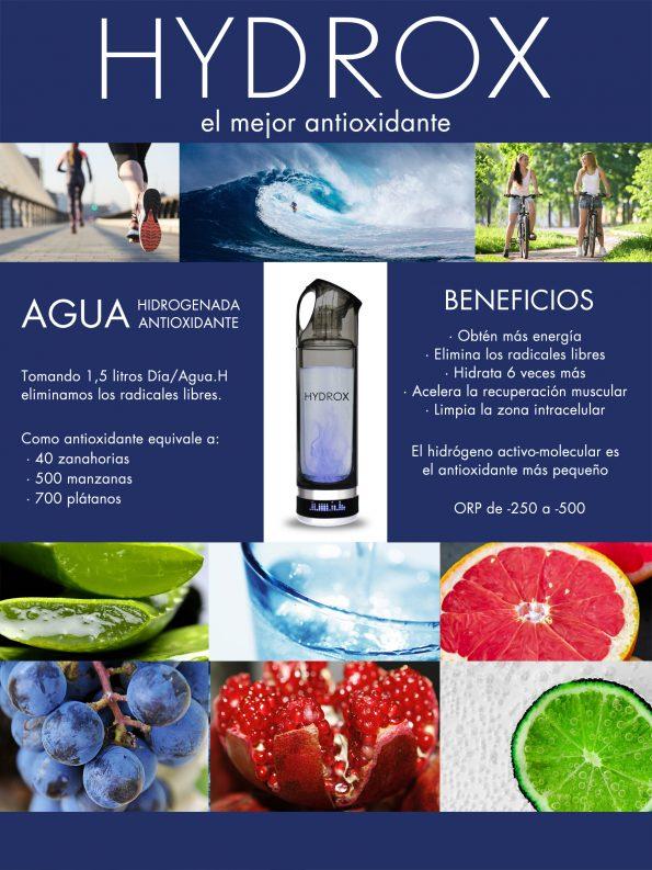 Agua sana Hydrox portable